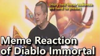 Diablo Immortal: Meme Reaction