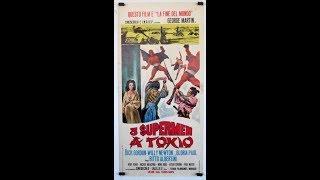 3 Supermen a Tokio - Film avventura completo in italiano del 1968