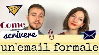Come SCRIVERE UN'EMAIL formale in italiano - Learn How to Write an Email in Italian