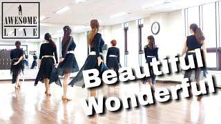 Beautiful Wonderful Line Dance Demo & Walkthrough