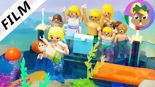Playmobil film italiano| ACQUARIO diventa un ACQUAPARK -Julian salvato da una sirena| famiglia Vogel