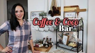 Coffee and Coco Bar | Decorate With Me | Vlogmas Day 2