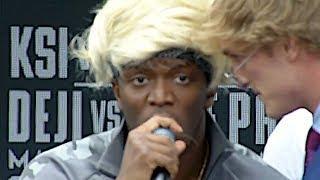 [FULL VIDEO] KSI VS. LOGAN PAUL PRESS CONFERENCE! **insanity**