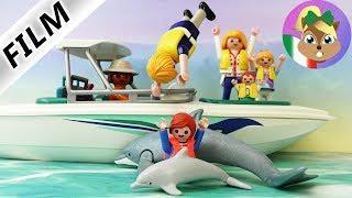 Playmobil film italiano | JULIAN sulla barca - bambino affoga | Caos in vacanza famiglia Vogel
