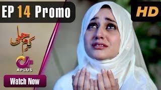 Pakistani Drama | Karam Jali - Episode 14 Promo | Aplus Dramas | Daniya, Humayun Ashraf