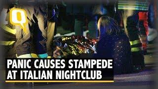 Stampede Before Concert in Italian Disco Leaves 6 Dead, 50 Hurt