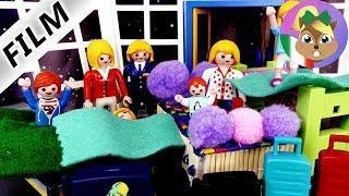 playmobil film italiano | DORMIRE IN AEREOPORTO- salta la vacanza?| caos in vacanza famiglia Vogel