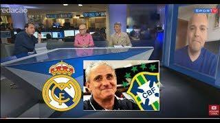 Tite técnico da seleção brasileira é procurado pelo Real Madrid, Callás conta detalhes 08 06 2018