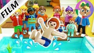 playmobil film italiano | JULIAN organizza FESTA DI COMPLEANNO in piscina | famiglia Vogel