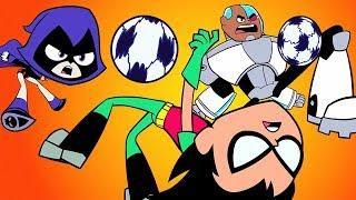 Teen Titans Go! auf Deutsch | Sudden-Death-Fußball | DC Kids