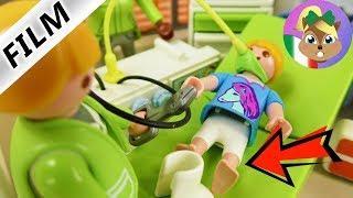 Playmobil film italiano | ANNA ha le STAMPELLE! esami di controllo e operazione| famiglia Vogel