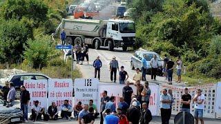 Kosovo, proteste e barricate per la visita del presidente serbo Vucic