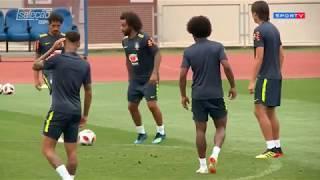 As informações da seleção BR e o crescimento de Neymar nos jogos  trechos da coletiva de Willian que