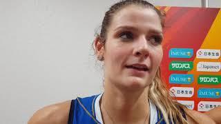 Mondiali Femminili 2018: Cristina Chirichella dopo Italia vs Cina 3-2