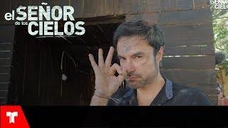 El Señor de los Cielos 6 | Detrás de Cámaras: La explosión en la casa de Aurelio | Telemundo Novelas