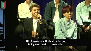 [SUB ITA] BTS - GRAMMY Museum Full Conversation