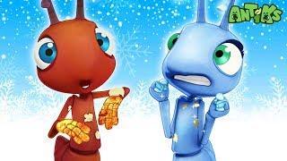Oddbods Presentano: Antiks | Troppo Caldo Troppo Freddo | Funny Cartoons For Kids