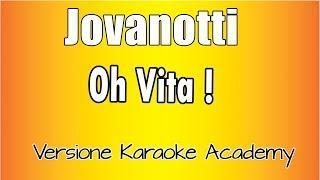 Karaoke Italiano -  Jovanotti -  Oh Vita!