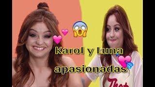 Karol Sevilla y Luna valiente están enamoradas de un chico italiano Face to Face