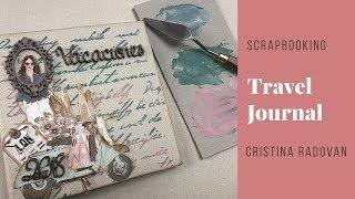 SCRAPBOOKING  TRAVEL JOURNAL