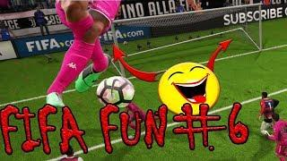 Fifa 18 Funny Fails #6 - WOW Bugs, Funny Misses & Goals, Fouls & Injuries, Referee Fails, Best Goals