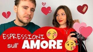 Verbi, Parole ed Espressioni per parlare d'AMORE in ITALIANO | Lezione Speciale SAN VALENTINO ❤️????