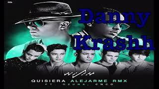 CNCO X Wisin ft. Ozuna - Quisiera Alejarme (Remix Official)