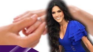 Feliz, bendecida y enamorada a Francisca le llega la propuesta de matrimonio del novio italiano en