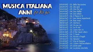 Musica Italiana Anni 70 80 90 I Migliori - Best Italian Songs - Canzoni Italiane 2019