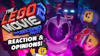 LEGO Movie 2 Trailer Reaction & Opinions!