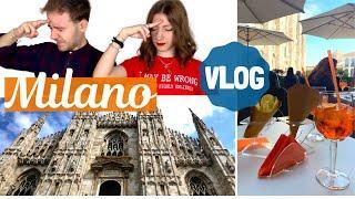 VLOG a MILANO: Terrazze del Duomo, Galleria Vittorio Emanuele, Castello Sforzesco, Navigli e Spritz!