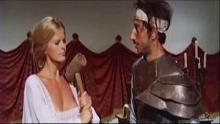 Karin Schubert rare retro italian comedy scene