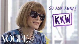 Anna Wintour Talks the Kardashians, Dressing for an Interview, and How Not to Wear Leggings | Vogue