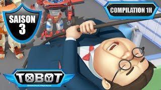 TOBOT⏱⏱ Compilation 1h de dessin animé (épisodes 13, 14 et 15, saison 3)