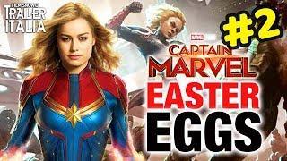 CAPTAIN MARVEL Easter Eggs | Cosa Nasconde il Trailer #2 Ita del Film?