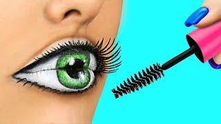 Easy Halloween Makeup Tutorial Compilation / Weird Makeup Ideas / Body Paint Illusions