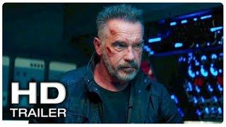 TERMINATOR 6 DARK FATE T-800 Fight Scene Trailer (NEW 2019) Arnold Schwarzenegger Movie HD