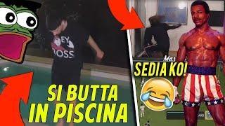 ILMASSEO VERSIONE APOLLO CREED ???? | HOMYATOL SI BUTTA IN PISCINA ALLE 3 DI NOTTE CON 0 GRADI ????