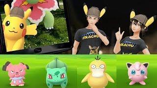 Festeggia l'uscita nelle sale di POKÉMON Detective Pikachu con Pokémon GO!