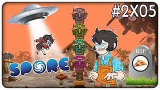 GLI ALIENI RAPISCONO L'ASSISTENTE E LA PIZZA SI ESTINGUE | Spore - ep. 2x05