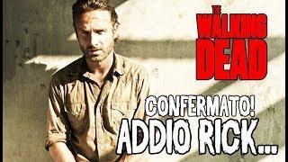 The Walking Dead 9 ITA - CONFERMATO! ADDIO RICK GRIMES - SPOILER 9x5.