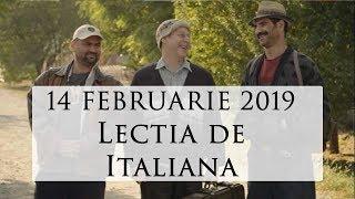 Las Fierbinti   SEZON NOU 14 februarie 2019   LECTIA DE ITALIANA  Sezon 15 Episod 8   Complet