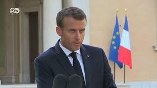 """Macron: """"Esta es una crisis interna de la Unión Europea"""""""