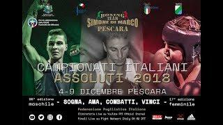 Campionati Italiani Assoluti 2018 - SEMIFINALI UOMINI