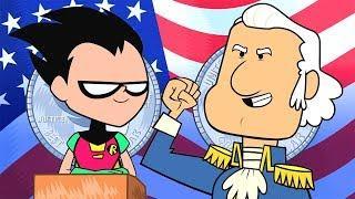 Teen Titans Go! in Italiano | George Washington non mente mai | DC Kids