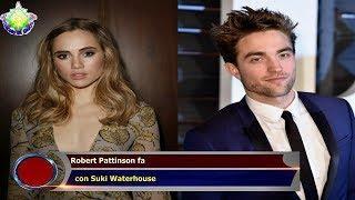 Robert Pattinson fa   con Suki Waterhouse