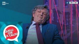 Il dott. Roberto Burioni (Antonio Ornano) ospite in studio - Quelli che il calcio 03/02/2019