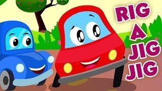 Super Kids Network Italiano | Rig A Jig Jig Rhyme | rig una giga giga | filastrocche per bambini