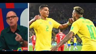 Debate fala da superação de Thiago Silva o segundo cartão amarelo de Casemiro e a entrada de Fernand