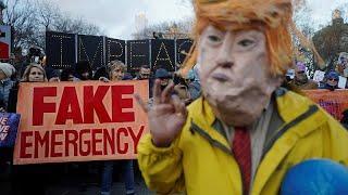 Usa: 16 Stati contro il presidente Trump e il suo muro